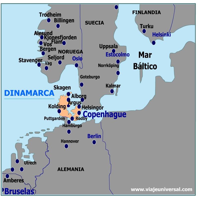 Danzas e Mapa de Dinamarca h (Marruecos)