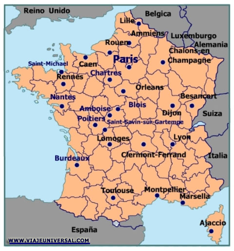 Ciudad Bourges En Francia
