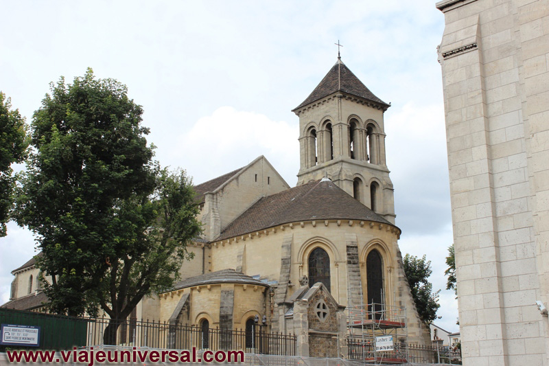 iglesia de saint pierre de montmartre de par s francia. Black Bedroom Furniture Sets. Home Design Ideas