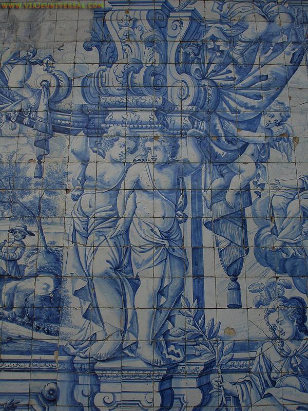 Fotografia azulejos patio superior de la se catedral de - Azulejos para patio ...