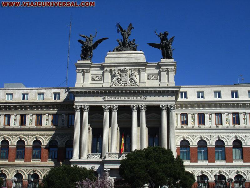 Antiguo ministerio de agricultura madrid for Ministerio de seguridad espana