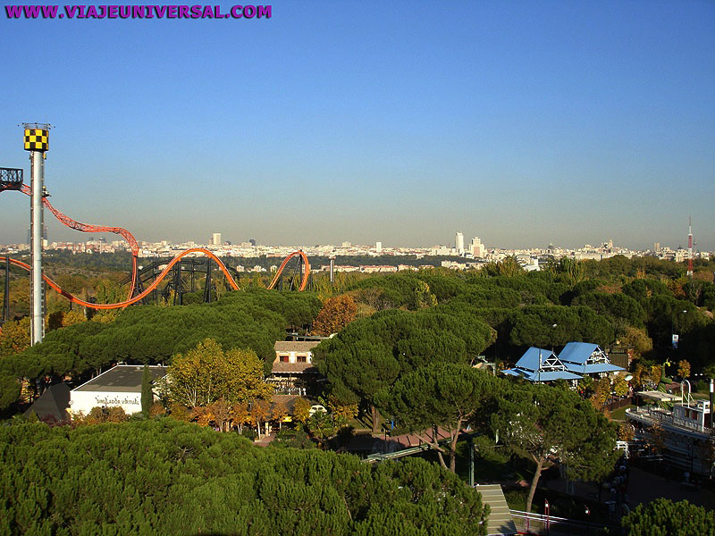 Parque de atracciones en la casa de campo madrid - Hoteles cerca casa campo madrid ...