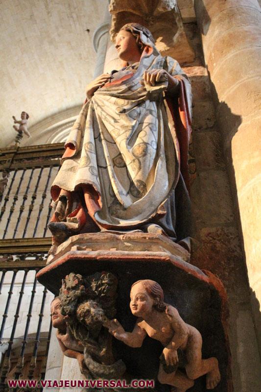 La fascinante Edad Media. Colegiata_virgenembarazada