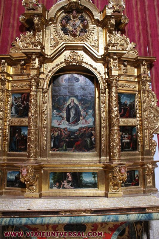 Decoracion De Altar De Virgen De Urkupi?a ~ ALTAR ASUNCI?N DE LA VIRGEN EN LA IGLESIA , MONASTERIO DE SANCTI
