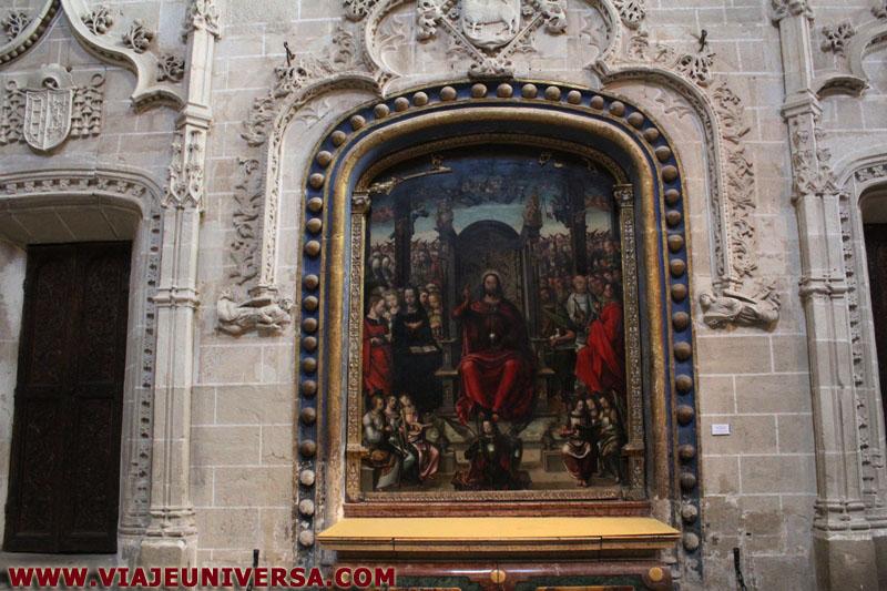 Altar de trascoro catedral de zamora provincia zamora for Catedral de zamora interior