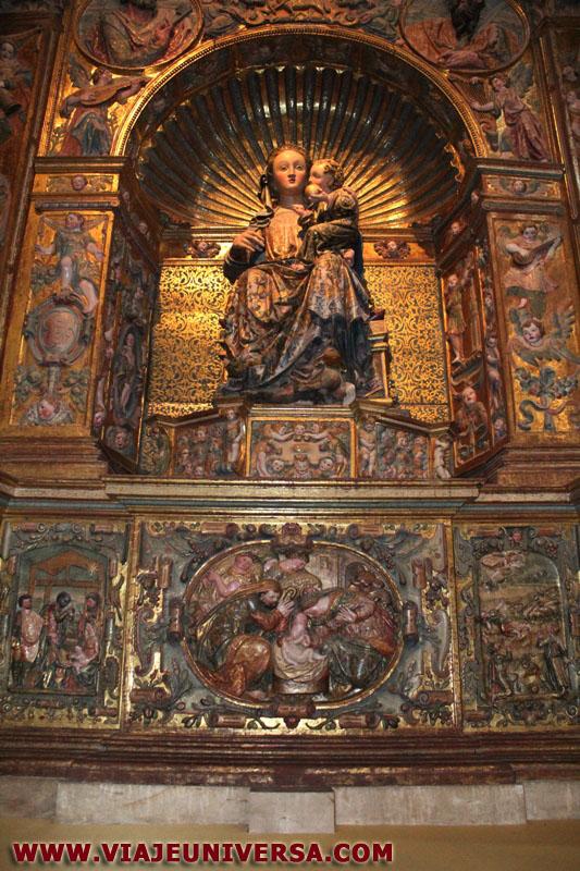 Capilla mayor retablo virgen de la majestad catedral de for Catedral de zamora interior