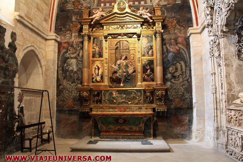 Capilla de san juan evangelista catedral de zamora for Catedral de zamora interior