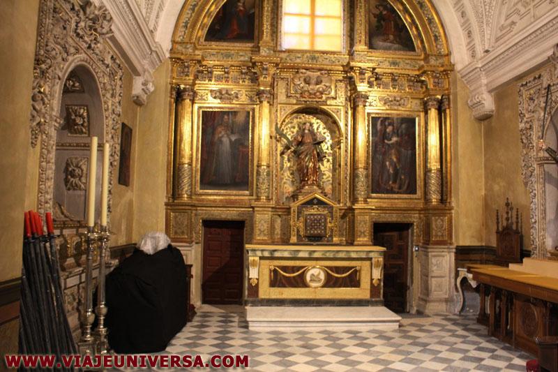 Capilla de santa in s catedral de zamora provincia for Catedral de zamora interior