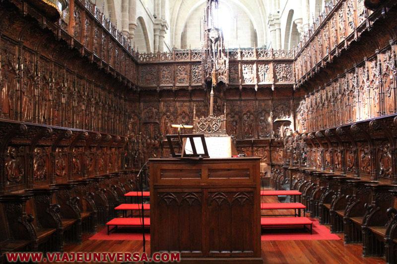 Coro catedral de zamora provincia zamora espa a for Catedral de zamora interior