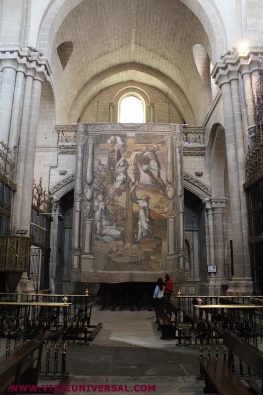 Transepto catedral de zamora provincia zamora espa a for Catedral de zamora interior